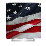 Stars And Stripes Shower Curtain