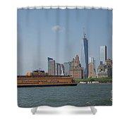 Staten Island Ferry Shower Curtain