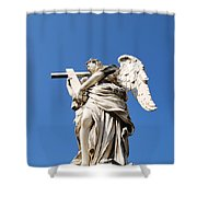 Statue In Vatican City Shower Curtain