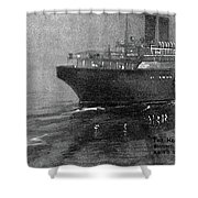 Steamship Accident, 1914 Shower Curtain