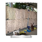 Steve Irwin Memorial Shower Curtain
