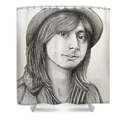 Steve Perry Shower Curtain