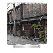 Street In Kyoto Japan Shower Curtain