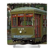 Streetcar Shower Curtain