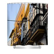 Streets Of Seville Shower Curtain