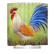Strutting My Stuff, Rooster Shower Curtain