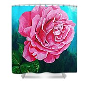 Summer Rose Shower Curtain