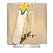 Summer Sport Shower Curtain