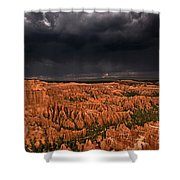 Summer Thunderstorm Bryce Canyon National Park Utah Shower Curtain