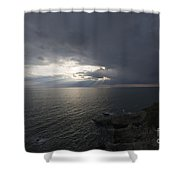 Sunlight Over The Sea Shower Curtain