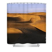 Sunrise At Oceano Sand Dunes Shower Curtain