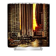 Sunrise At Punta Pacifica Shower Curtain
