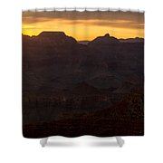 Sunrise At The Grand Canyon Shower Curtain