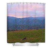 Sunrise In Cades Cove Shower Curtain