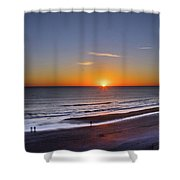Sunrise Over Atlantic Ocean, Florida Shower Curtain