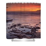 Sunset In Marbella Shower Curtain