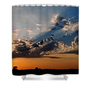 Sunset In Seaford Shower Curtain