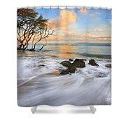 Sunset Tides Shower Curtain