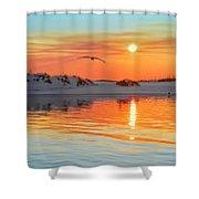 Sunswept Shower Curtain