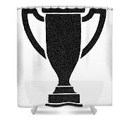 Symbol Achievement Shower Curtain