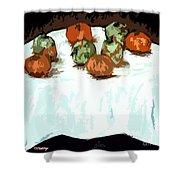 Tablecloth Shower Curtain