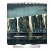 Tabular Iceberg Antarctica Shower Curtain
