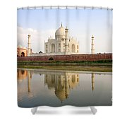 Taj Mahal Shower Curtain