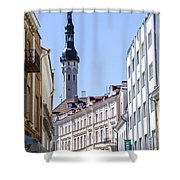 Tallin Estonia Shower Curtain