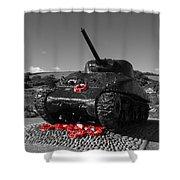 Tank Memorial Shower Curtain