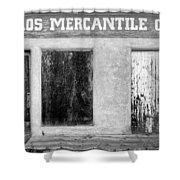 Taos Mercantile Shower Curtain