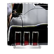 Terra Nova Hs Car Show Shower Curtain