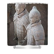 Terracotta Warriors, China Shower Curtain