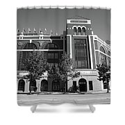 Texas Rangers Ballpark In Arlington Shower Curtain