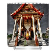 Thai Temple Shower Curtain