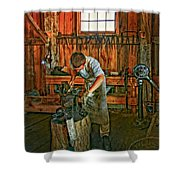 The Apprentice 2 Shower Curtain