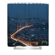 The Bosphorus Bridge  Shower Curtain
