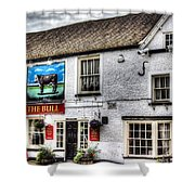 The Bull Pub Theydon Bois Essex Shower Curtain