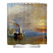 The Fighting Temeraire Shower Curtain