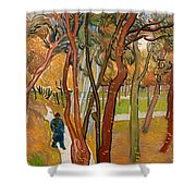 The Garden Of Saint Paul's Hospital Shower Curtain
