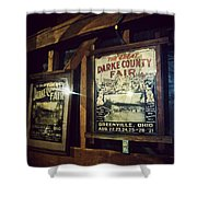 The Great Darke County Fair Shower Curtain