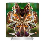 The Mating Shower Curtain