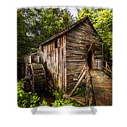 The Mill At Cades Cove Shower Curtain