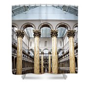The National Building Museum In Washington Dc Usa Shower Curtain