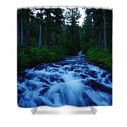 The Paradise River Shower Curtain