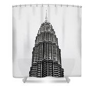 The Petronas Towers Shower Curtain
