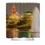 The Plaza Shower Curtain