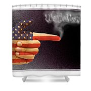 The Right To Bear Arms-3 Shower Curtain
