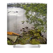 The Rowing Boat Shower Curtain