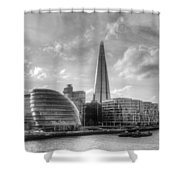 The Shard And City Hall Shower Curtain