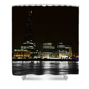 The South Bank London Shower Curtain